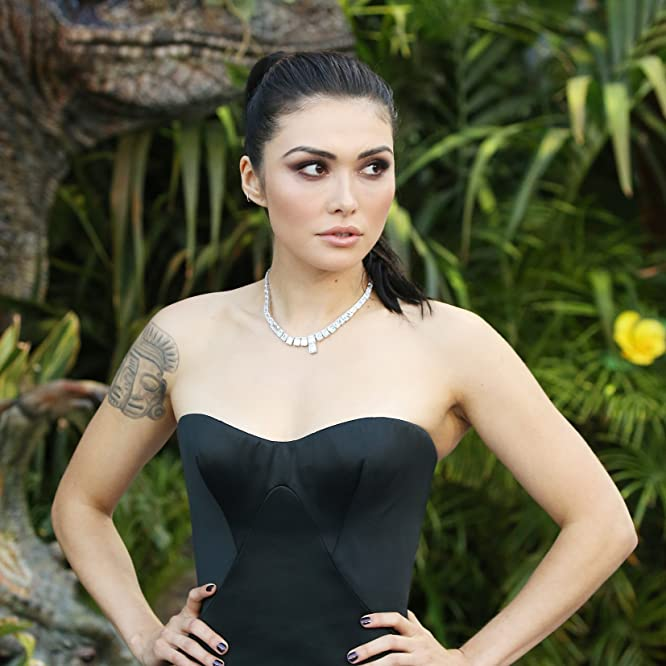 Daniella Pineda at an event for Jurassic World: Fallen Kingdom (2018)