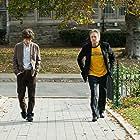 Michael Douglas and Jesse Eisenberg in Solitary Man (2009)