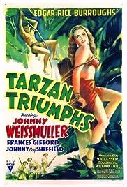 Tarzan Triumphs Poster