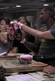 Mekhi Phifer, Ming-Na Wen, Noah Wyle, Maura Tierney, and Harrison Page in ER (1994)
