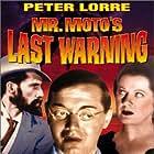 Peter Lorre, John Carradine, and Margaret Irving in Mr. Moto's Last Warning (1939)