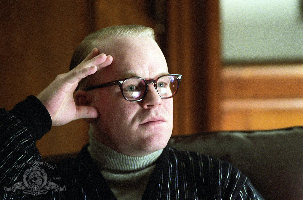 Philip Seymour Hoffman in Capote (2005)