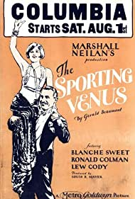 Ronald Colman and Blanche Sweet in The Sporting Venus (1925)