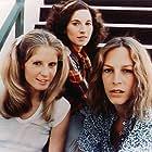 PJ Soles, Nancy Loomis, and Jamie Lee Curtis in HALLOWEEN