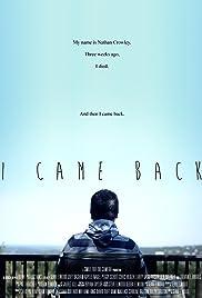I Came Back Poster