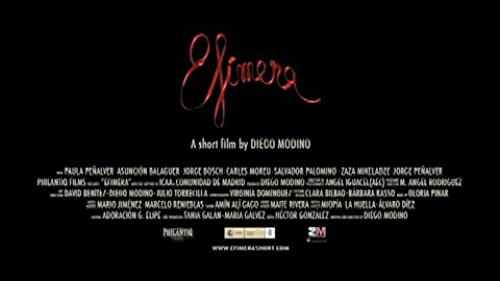 TRAILER of the short film EFIMERA (Ephemeral) This is the story of the initiatory journey of Alicia, from her candid world of fantasy to the dark and violent reality.