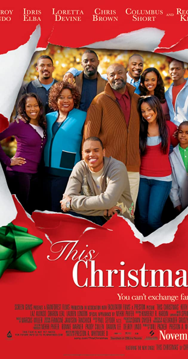 This Christmas Cast.This Christmas 2007 Full Cast Crew Imdb