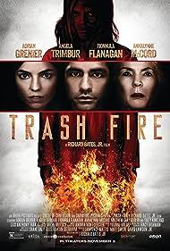 Fionnula Flanagan, Adrian Grenier, Angela Trimbur, and AnnaLynne McCord in Trash Fire (2016)
