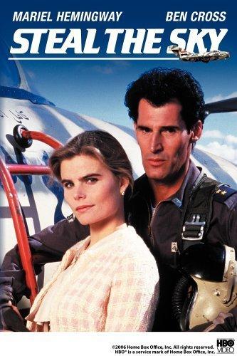 Mariel Hemingway and Ben Cross in Steal the Sky (1988)
