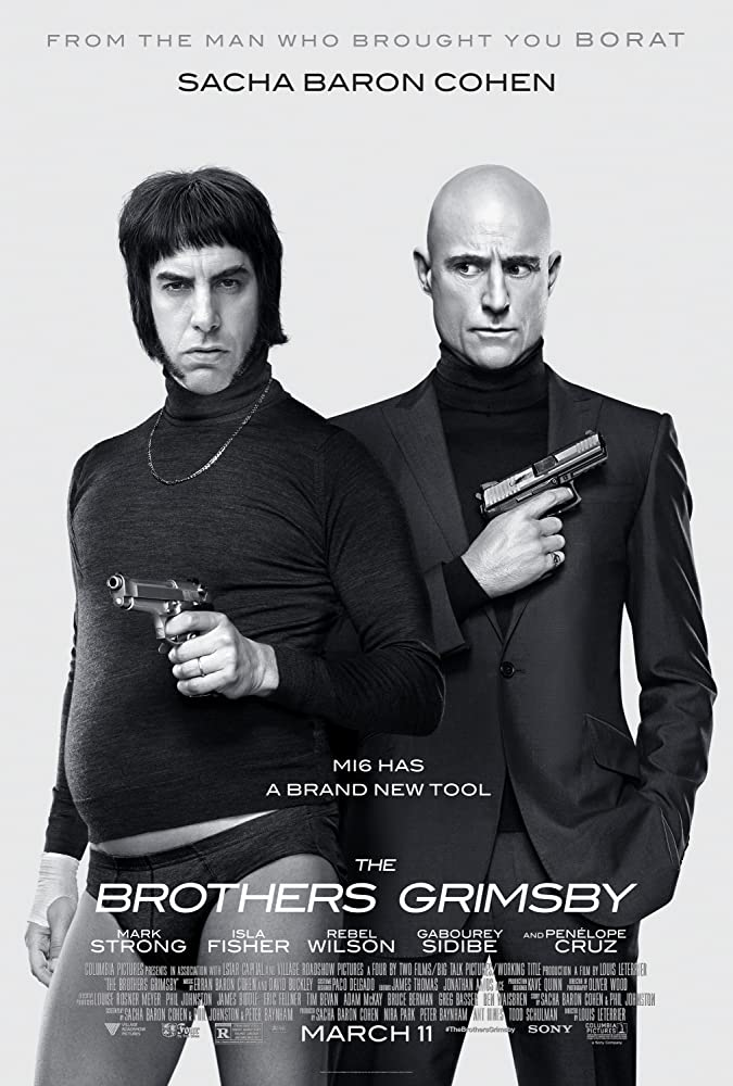Sacha Baron Cohen and Mark Strong in Grimsby (2016)
