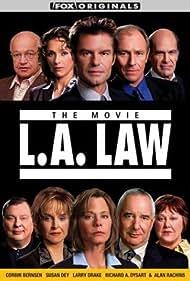 Corbin Bernsen, Susan Dey, Harry Hamlin, Larry Drake, Richard Dysart, Jill Eikenberry, Michele Greene, Alan Rachins, Susan Ruttan, and Michael Tucker in L.A. Law: The Movie (2002)