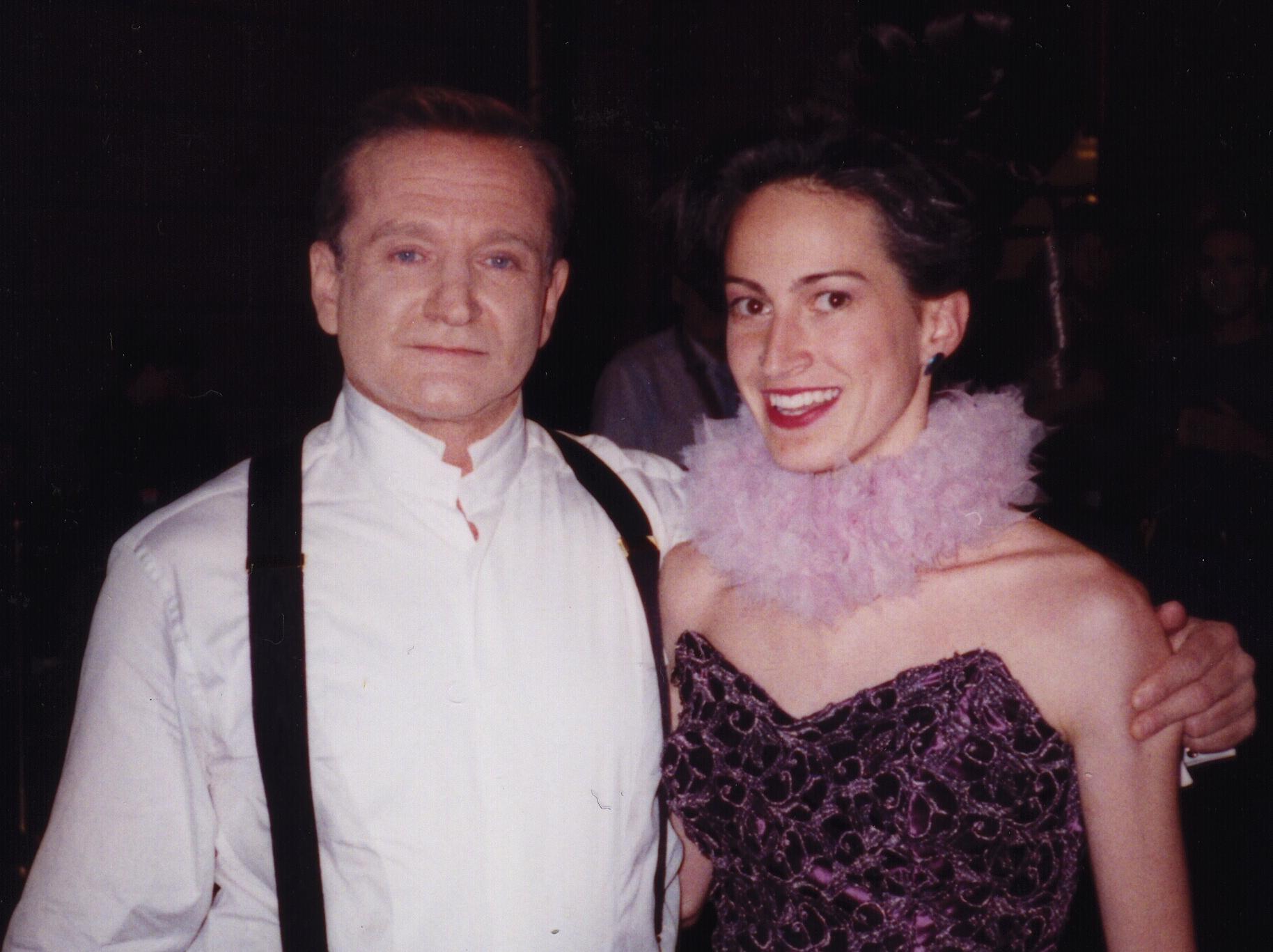 Robin Williams and Jaden Alexander in San Francisco