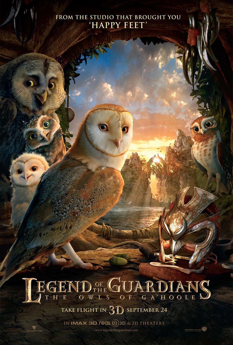 Legend of the Guardians: The Owls of Ga'Hoole (2010) BluRay 480p, 720p & 1080p