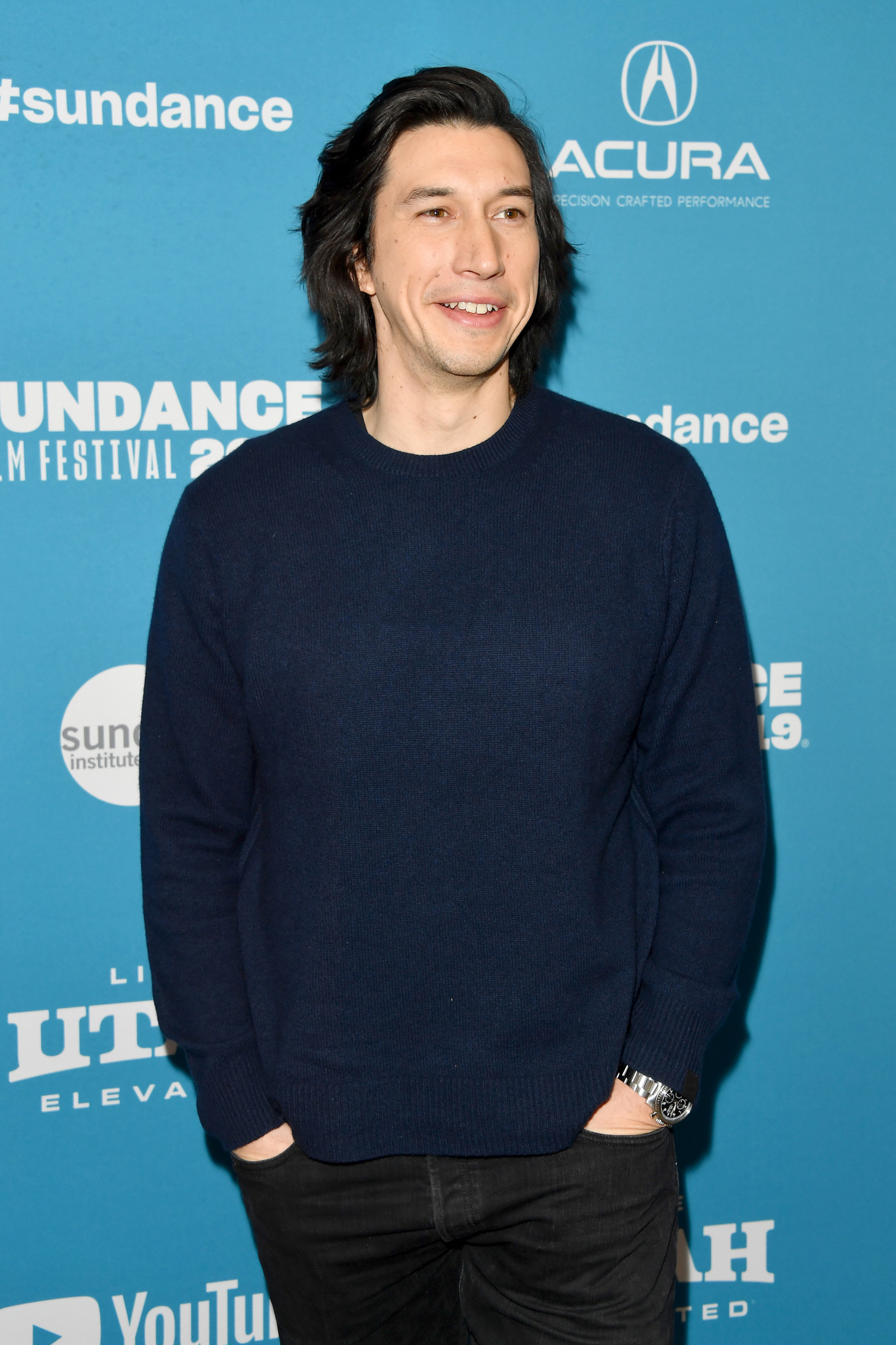 Adam Driver at an event for The Report (2019)