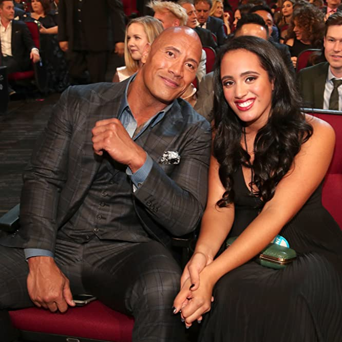 Dwayne Johnson at an event for The 43rd Annual People's Choice Awards (2017)