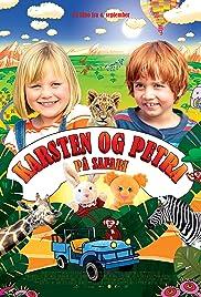 Karsten og Petra på safari Poster