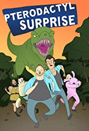Pterodactyl Surprise Poster