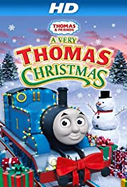 thomas friends a very thomas christmas poster