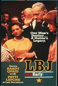 Randy Quaid and Patti LuPone in LBJ: The Early Years (1987)