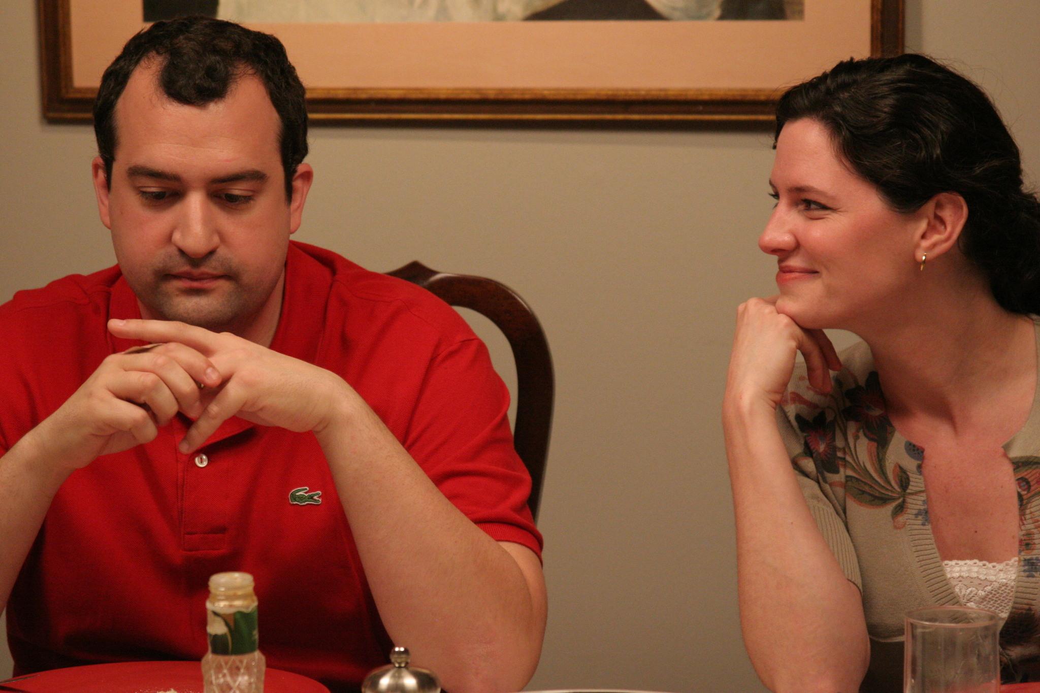 Jennifer Lafleur and Steve Zissis in The Do-Deca-Pentathlon (2012)