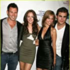 Writer/Director Jeff Fisher with stars Leighton Meester, Torrey DeVitto & Paul Wesley at the premiere of KILLER MOVIE at the Tribeca Film Festival.