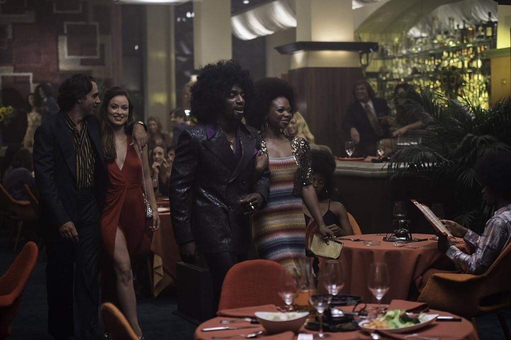 "Bobby Cannavale, Olivia Wilde, Daniel J. Watts, & Susan Heyward. HBO's Vinyl - S1 Ep 5 ""He In Racist Fire"""