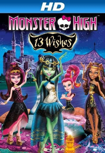 Monster High: 13 Wishes (2013) Hindi Dubbed
