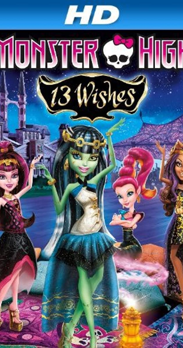 Monster High: 13 Wishes (2013)