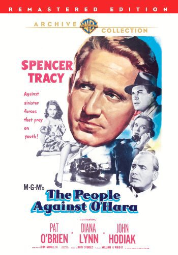 Spencer Tracy, Pat O'Brien, Yvette Duguay, John Hodiak, and Diana Lynn in The People Against O'Hara (1951)