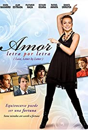 Amor letra por letra (2008) Poster - Movie Forum, Cast, Reviews