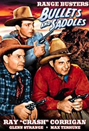 Bullets and Saddles Poster