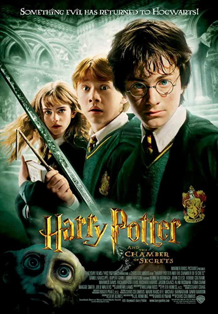 Harry Potter and the Chamber of Secrets (2002) in Hindi