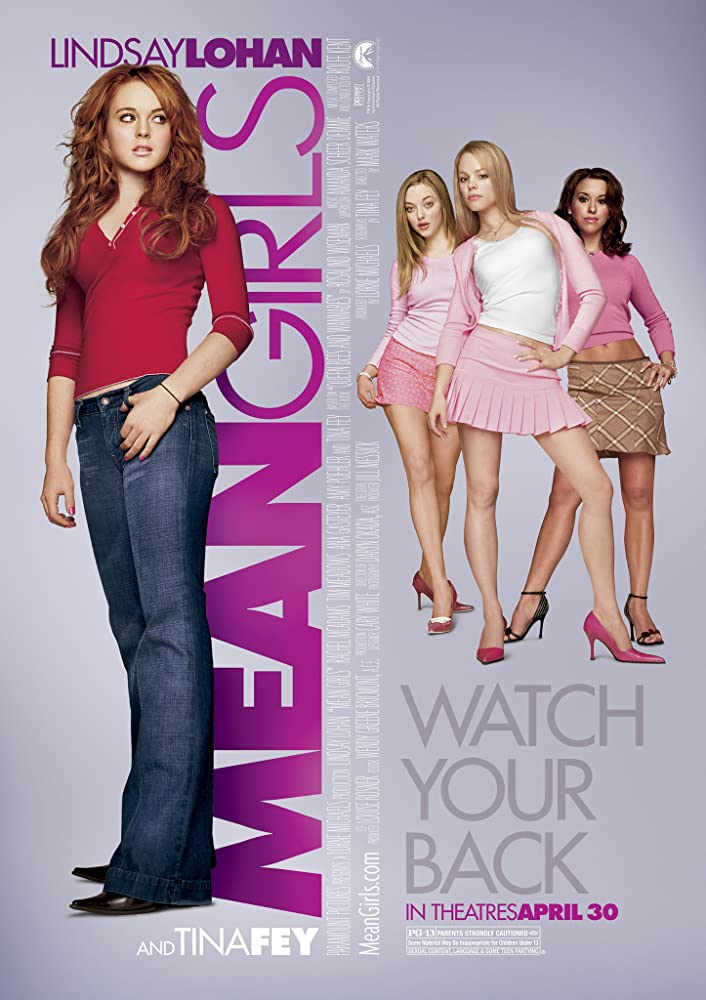 Mean Girls 2004 Hindi Dual Audio 347MB HDRip ESub Download