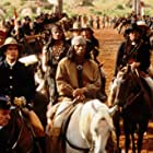 Matt Damon, Jason Patric, Steve Reevis, and Wes Studi in Geronimo: An American Legend (1993)