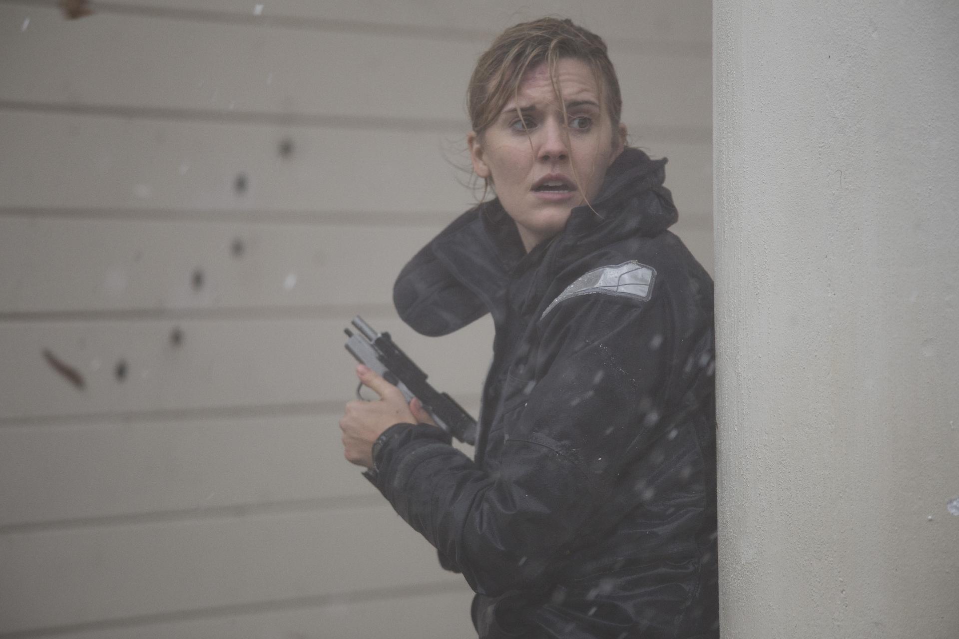 Maggie Grace in The Hurricane Heist (2018)