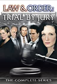 Fred Thompson, Bebe Neuwirth, Jerry Orbach, Kirk Acevedo, and Amy Carlson in Law & Order: Trial by Jury (2005)