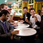 Rob Lowe, Adam Scott, Jim O'Heir, Nick Offerman, Chris Pratt, and Aziz Ansari in Parks and Recreation (2009)