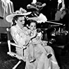 """Judy Garland with daughter Liza On the set of """"In The Good Old Summertime"""" 1949 MGM"""