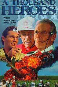 Charlton Heston, James Coburn, and Richard Thomas in Crash Landing: The Rescue of Flight 232 (1992)