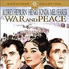 Henry Fonda, Audrey Hepburn, and Mel Ferrer in War and Peace (1956)