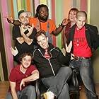 Juba Kalamka, God-des, Alex Hinton, Dutchboy, and Katastrophe at an event for Pick Up the Mic (2006)