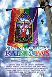 Stained Glass Rainbows Poster