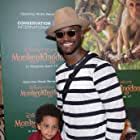 Taye Diggs at an event for Monkey Kingdom (2015)