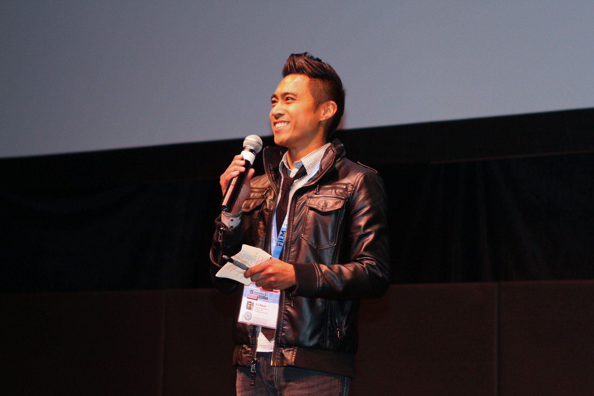 PJ Raval at an event for Before You Know It (2013)