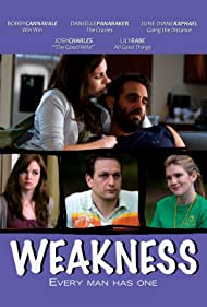 Josh Charles, Bobby Cannavale, Lily Rabe, Danielle Panabaker, and June Diane Raphael in Weakness (2010)