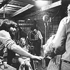 """The Texas Chain Saw Massacre""  Marilyn Burns and Director Tobe Hooper,  Bryanston Distributing Company, 1974, I.V. 0122782"