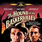 Christopher Lee and Peter Cushing in The Hound of the Baskervilles (1959)
