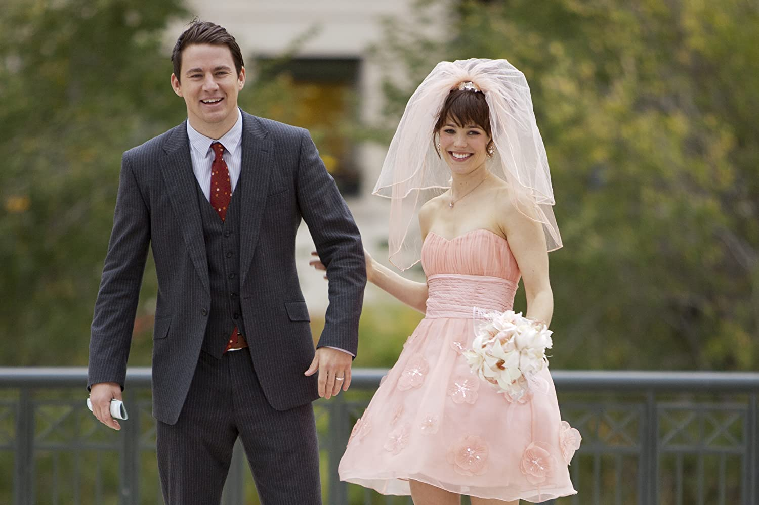 Adegan pernikahan Leo dan Paige di  The Vow