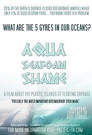 Aqua Seafoam Shame Poster