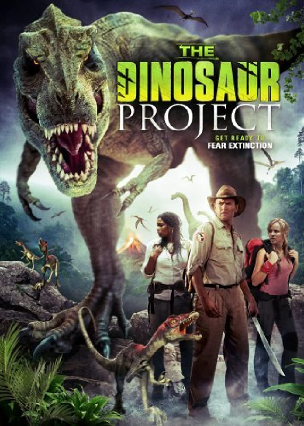 Poster film The Dinosaur Project.
